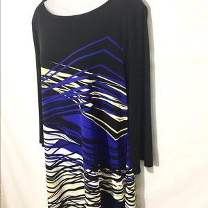Style and Co long sleeve sheath dress.